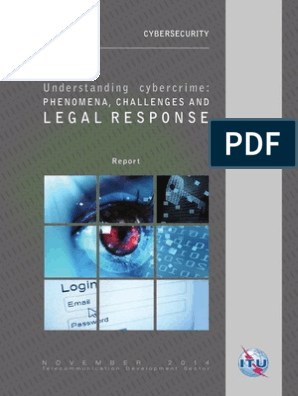 Legal Response: Understanding cybercrime