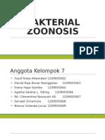 BAKTERIAL ZOONOSIS (Anthrax, Erysipelas, Dan Brucellosis)