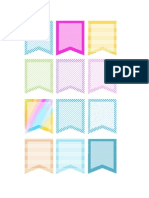 planner flag stickers