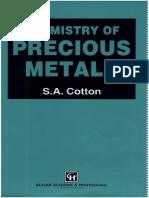 Chemistry of Precious Metals