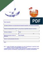 Modulo Iscrizione Basket d a...Mare 2015