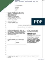 National Federation of the Blind et al v. Target Corporation - Document No. 15