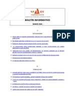 Boletín Informativo RP&GY Abogados - Marzo 2015