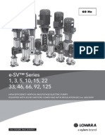 Lowara Multi-stage Pumps Catalogue