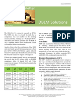 DBLM Solutions Carbon Newsletter 26 Mar 2015