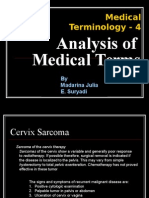 Analysis Medical Term
