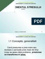 Curs 6 Managementul Stresului