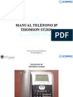 Manual Telefono ST2030 Ver1.3