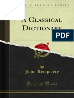 A Classical Dictionary 1000156095