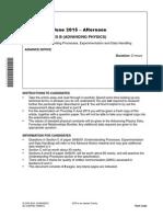 206176 Unit g492 Advance Notice Article June 2015