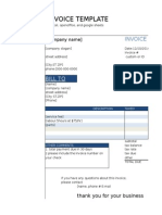 Azam Invoice Formating