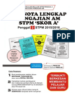 Set Nota Lengkap Pengajian Am Penggal 2 STPM 2015