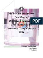 Concrete Manual Design