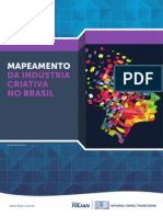 Mapeamento Da Industria Criativa No Brasil
