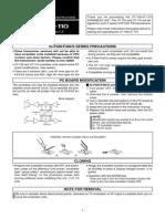 Icom UT-109 UT-110 Instruction Manual