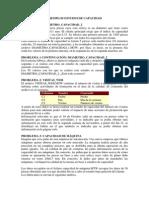 Minitab Estudios de Capacidad EJERCICIOS