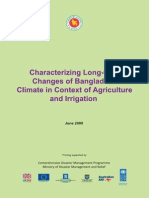 Characterizing Long-Term Changes of Bangladesh Climate in Context of Agriculture and Irrigation - 2009