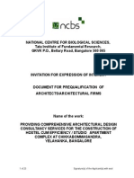 Expression of Interest Document