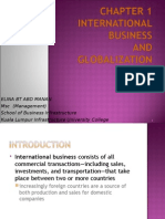 Chp 1 Intro to International Business