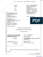 """The Apple iPod iTunes Anti-Trust Litigation"" - Document No. 66"