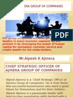 Alpesh Ajmera | Ajmera Group of Companies