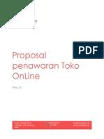 Proposal Penawaran Shopping Online