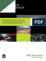 Micromine Brochure
