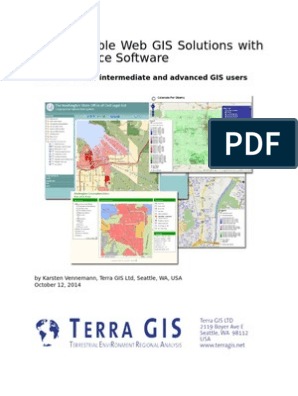 Interoperable Web GIS Solutions with Open Source Software