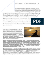 Psicologia Almeria, PSICOLOGIA Y MINDFULNESS, Israel Manas Manas