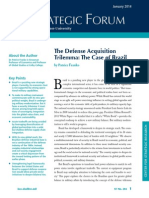 FRANCKO, Patrice. The Defense Acquisition Trilemma