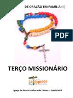 Terço Missionário 2014 - Nsfátima - Catequese