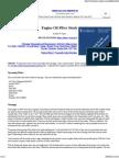 Engine Oil Filter Study