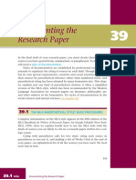 Book-01-Chapter-39 Documenting the Research Paper