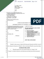 CLRB Hanson Industries, LLC et al v. Google Inc. - Document No. 47