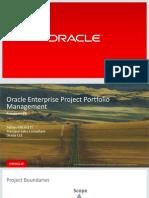 Prezentare Primavera P6 Oracle