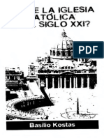 Kostas, Basilio - ¿Fin de La Iglesia Católica en El Siglo XXI (Scan)