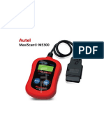 Autel Maxiscan MS300-Manual.