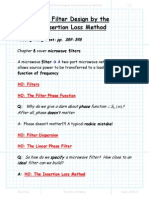 Section 8 3 Filter Design by the Insertion Loss Method Package