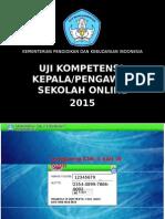 Soal Latihan Uji Kompetensi Guru Kepala Pengawas Sekolah 2015