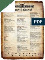 Pirates Lexicon