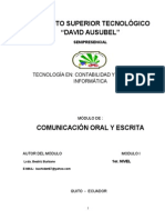 Comunicacion Oral y Escrita 3-05-14 Lupita