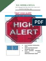 Daftar Obat High Alert