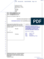 CLRB Hanson Industries, LLC et al v. Google Inc. - Document No. 52