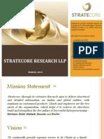 StrateCore Research - Corporate Profile