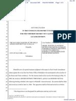 SJ Char Hells Angels, et al v. City of San Jose, et al - Document No. 295