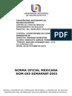 Norma Oficial Mexicana 083