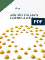 Ansi - Isea z358.1