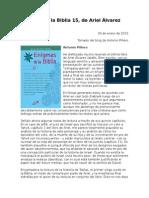 Alvarez Ariel - Enigmas de La Biblia 15 - Comentario a Piñero