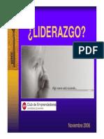 Liderazgo Feun 11-11-06