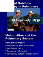 Pulmonary Disease MNT